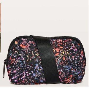 Nwt lululemon flowerescent everywhere belt bag